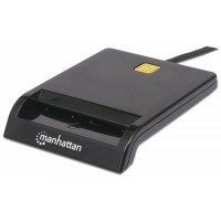 MANHATTAN Čtečka paměťových karet, USB, kontaktní externí