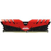DIMM DDR4 16GB 3000MHz, CL16, (KIT 2x8GB), TEAM T-FORCE Dark ROG (red)