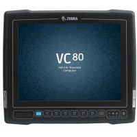 """Zebra VC80 vozíkový terminál10"""" Frezzer IN RES., APQ 8056 CPU, 4GB/32GB MMC (PSLC), ANDROID N AOSP,  USB, RS232, BT"""