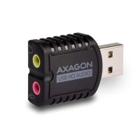 AXAGON ADA-17, USB2.0 - stereo HQ audio MINI adapter 24bit 96kHz