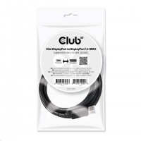 Club3D Kabel Mini DisplayPort na DisplayPort 1.2, (M/M), 2m