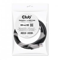Club3D Kabel DisplayPort 1.4 HBR3 (M/M), 2m