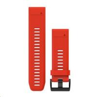 Garmin řemínek pro fenix5X - QuickFit 26, červený