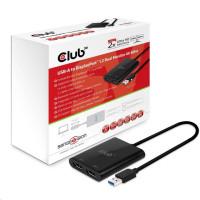 Club3D Video hub USB 3.1 na 2x DisplayPort