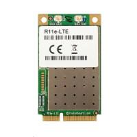 MikroTik R11e-LTE - 2G/3G/4G/LTE miniPCi-e karta, 2x u.FL konektor