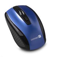 CONNECT IT Bezdrátová optická myš, modrá