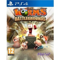 SONY PS4 hra Worms Battlegrounds