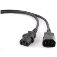 C-TECH Kabel síťový, prodlužovací, 1,8m VDE 220/230V napájecí