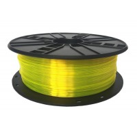 GEMBIRD Tisková struna (filament) PETG, 1,75mm, 1kg, žlutá