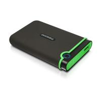 """TRANSCEND externí HDD 2,5"""" USB 3.0 StoreJet 25M3S, 1TB, Black (SATA, Rubber Case, Anti-Shock)"""