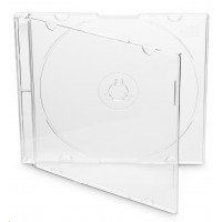 OEM Krabička na 1 CD 5,2mm slim box + tray čirá 200ks/bal