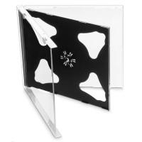 OEM Krabička na 2 CD 10mm jewel box + tray 200 ks/bal