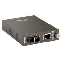 D-Link 1000BaseT to 1000BaseLX (SC) Singlemode Media Converter, do 10 km
